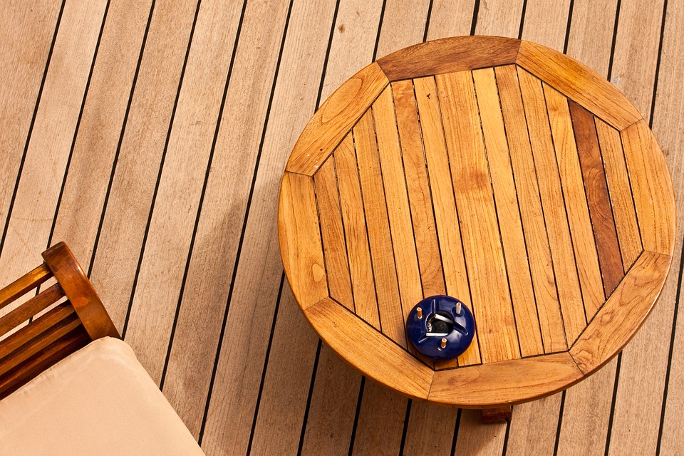Wood deck repair