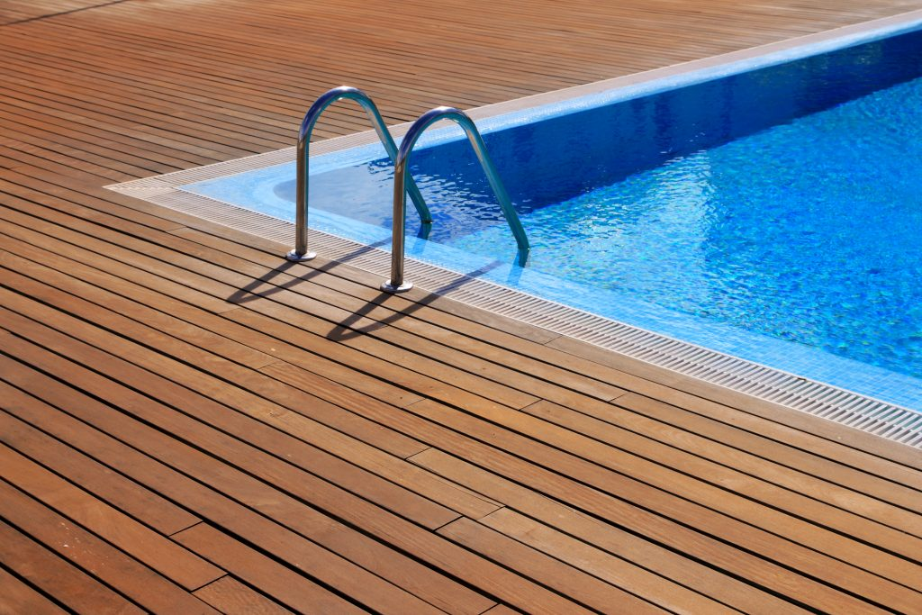 Contact our pool deck builder